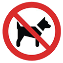 no-dogs-sign